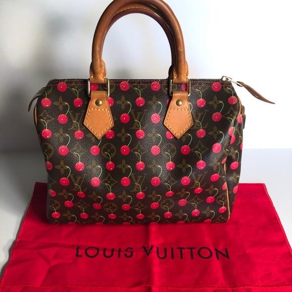 cf6214186a1e Louis Vuitton Handbags - Authentic Louis Vuitton Monogram Cherry Speedy 25